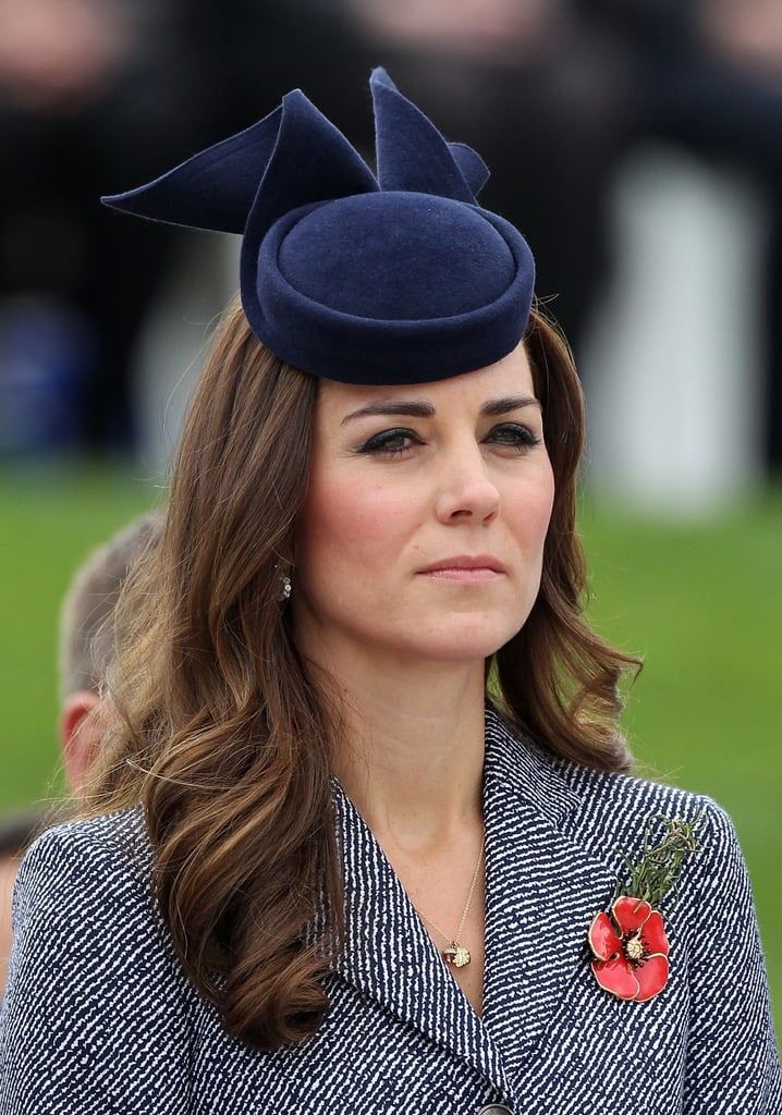 "During Kate's tour of Australia and New Zealand, there were many occasions when she wore a set of Asprey ""woodland charms"" on a necklace that included a diamond acorn and diamond oak leaf. She also wore a gold Kristin Magnusson acorn necklace to Wimbledon with sister Pippa in 2012."