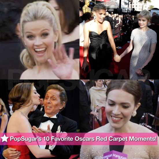 Pictures of Best Oscar Red Carpet Moments
