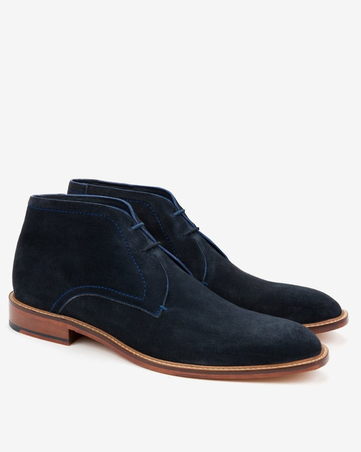 80d353a3cd50 Ted Baker Suede Derby Chukka Boots (£120)