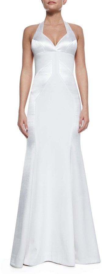 Rubin Singer Silk Open-Back Halter Gown ($3,250)