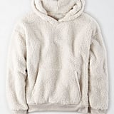 AE Fuzzy Sherpa Pullover Hoodie
