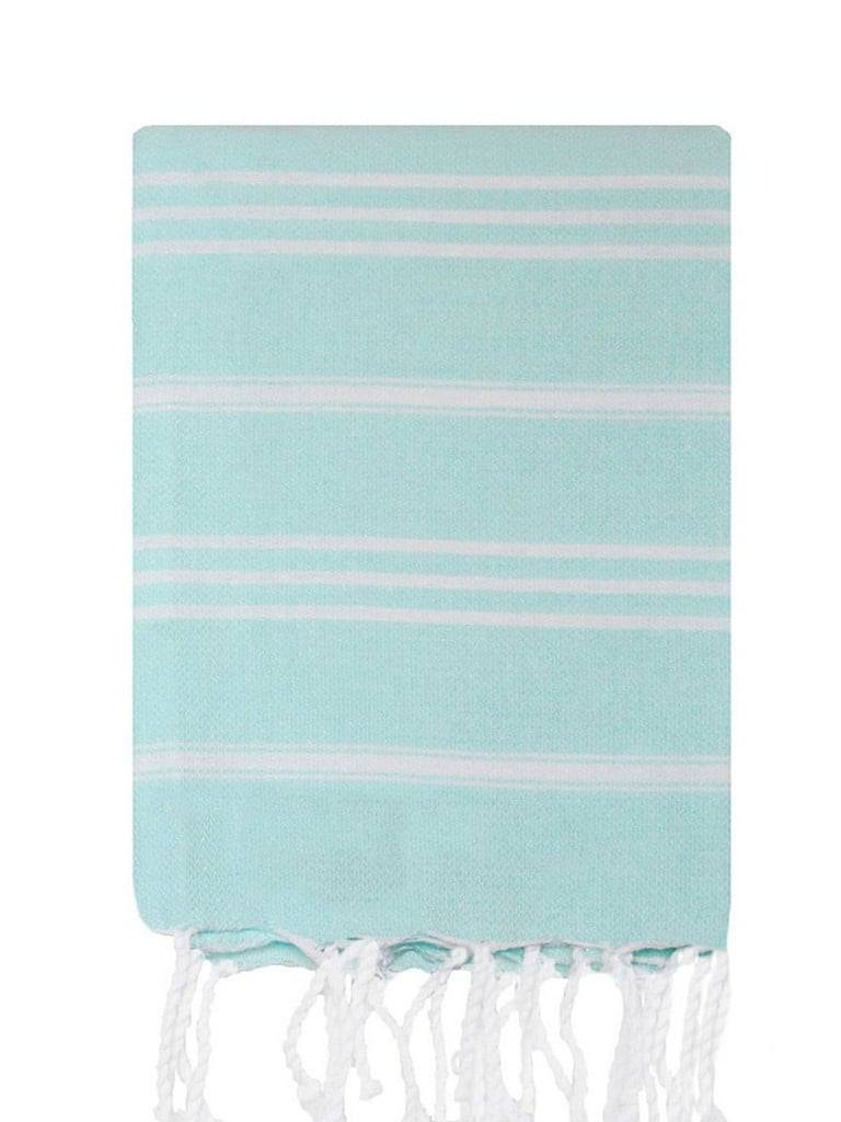 If you're expecting guests this Spring, freshen up your powder room with a pair of striped hand towels ($19).