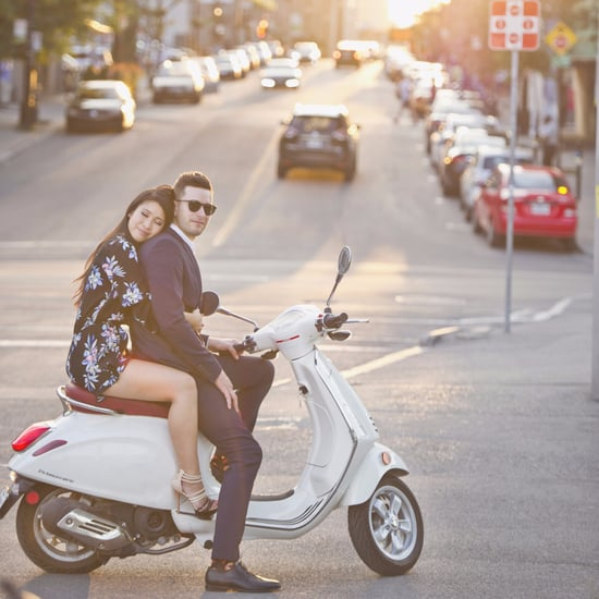 Vespa Engagement Shoot