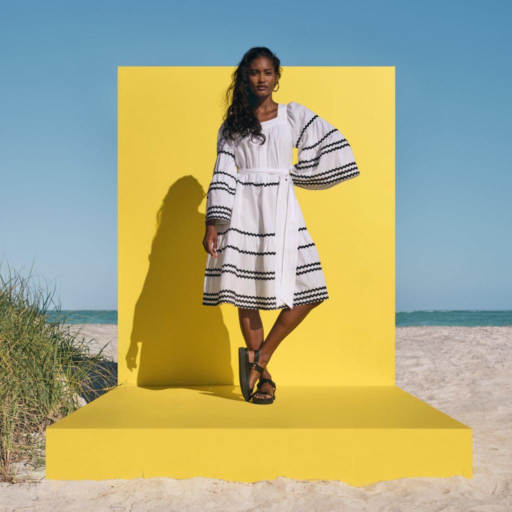 Lisa Marie Fernandez for Target Ric Rac Flare Sleeve Dress