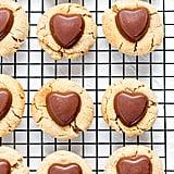 Heart-Shaped Peanut Butter Cookies