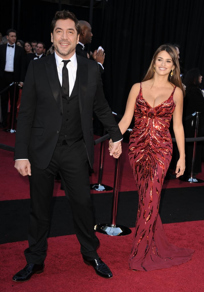 Penelope and Javier Make Their First Postbaby Red-Carpet Appearance!