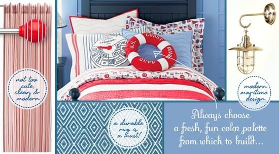 Lil Links:  A Nautical Room For Wee Sailors