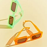 Chimi Neon Rectangle Sunglasses