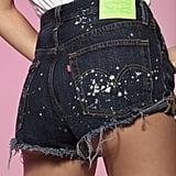 Hailey Baldwin x Levi's 501 Shorts