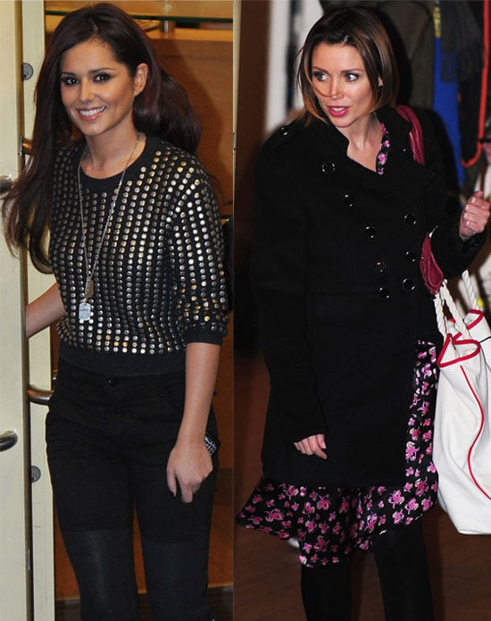Pictures of Cheryl Cole and Dannii Minogue