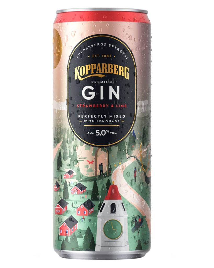 Kopparberg Strawberry and Lime, Gin and Lemonade