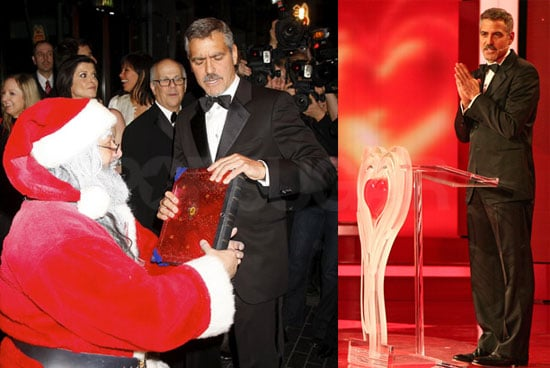 """Photos and Quotes from George Clooney in Berlin at the """"A Heart for Children"""" Gala"""