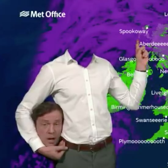 Met Office Halloween Forecast Headless Weatherman 2017