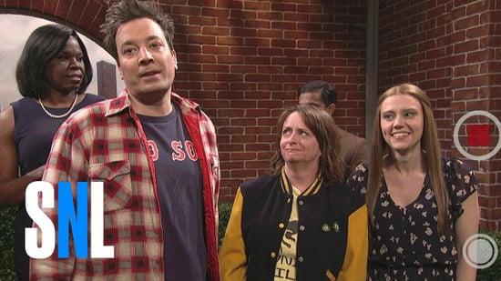 Jimmy Fallon and Rachel Dratch Boston Characters on SNL 2017