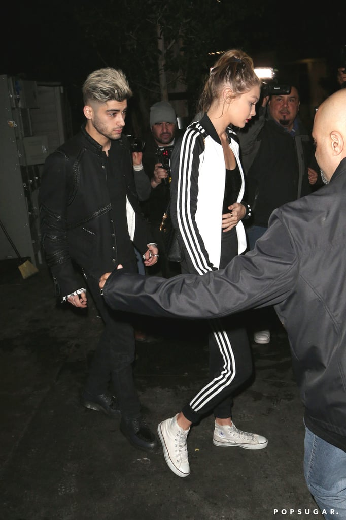 Gigi Hadid and Zayn Malik Continue to Look Like Your High School's Coolest Couple