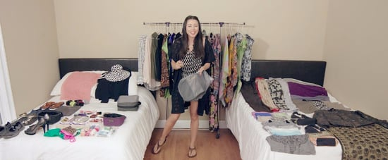 How to Pack Over 100 Items Into a Carry-On Video