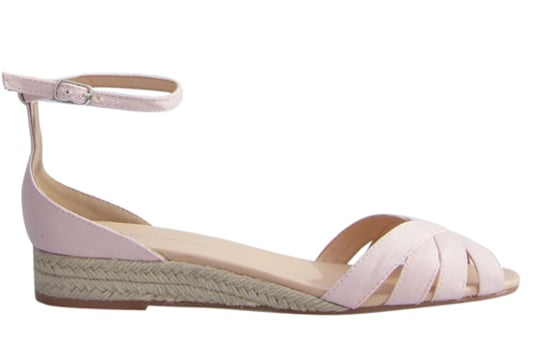 Invoke a subtle country getaway feel via the espadrille wedge. It's still perfect for walking city blocks and exploring the urban jungle. Marais USA Espadrille Wedge in Blush ($110)