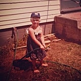"""I've obviously been dressing myself for a very long time. Don't be afraid to take risks people. #getyouryardworkon #tbt"""