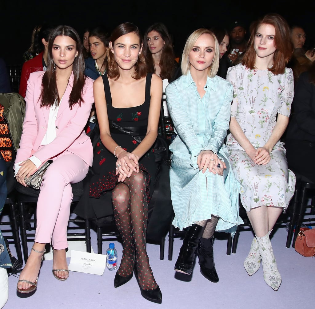 Celebrities Front Row At New York Fashion Week Fall 2017