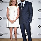 Leo and Caroline Scheufele smiled.