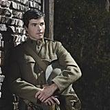 Pretty Little Liars Ezra (Ian Harding) looks pretty sexy as a soldier. Source: ABC Family