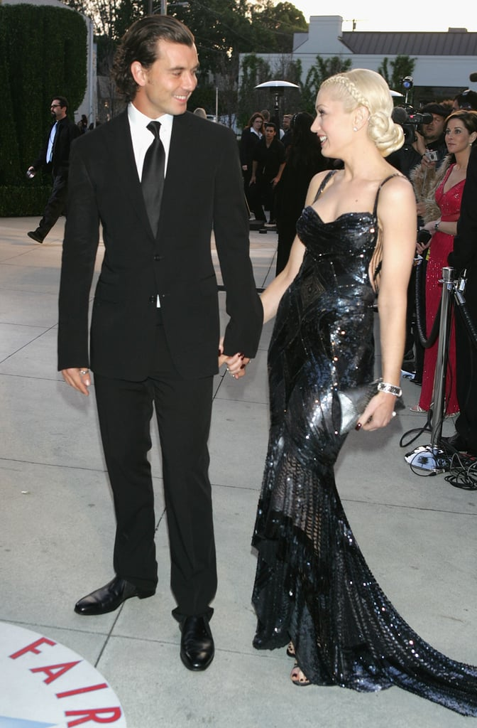 They wore all black in LA in February 2005.