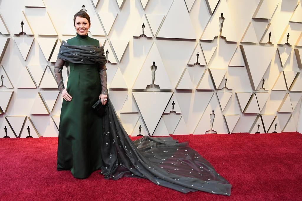 Olivia Colman outfit Oscar 2019