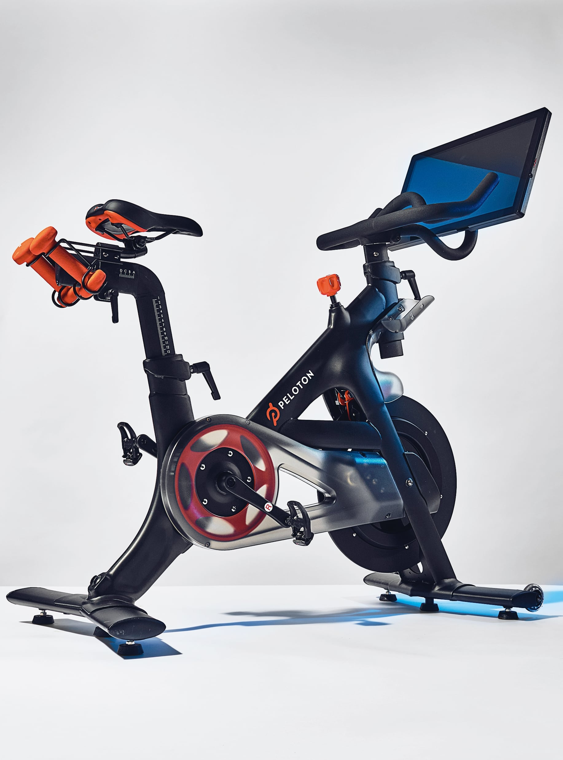 Peloton stationary exercise bicycle. (Photo by Adrian Gaut/Condé Nast via Getty Images)