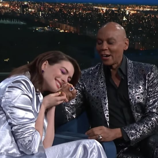 RuPaul Surprising Anne Hathaway on Colbert Video