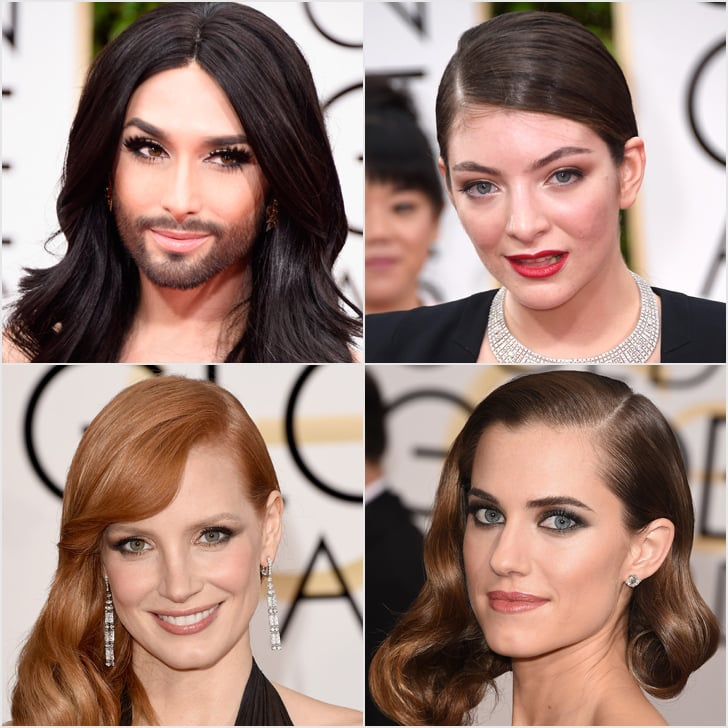 Hair and Makeup at Golden Globes 2015 | Red Carpet Pictures