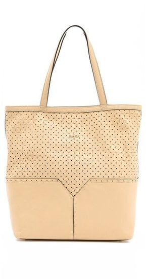 Neutral perforated leather makes this Pour la Victoire Provence Tote ($395) a perfect-for-Summer option that goes with everything.
