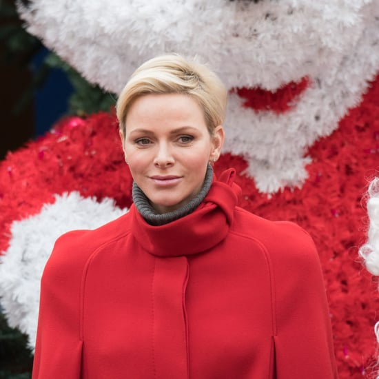Princess Charlene's Red Cape