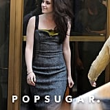 Kristen Stewart arrived at her Today show appearance in NYC.