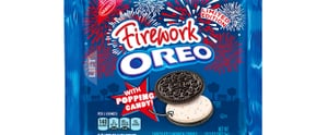 The New Firework-Inspired Oreo Flavor Will Ignite Your Taste Buds With Popping Candy