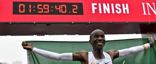 Kenya's Eliud Kipchoge Ran Vienna Marathon in Under 2 Hours