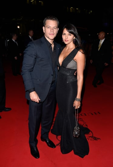 Matt Damon and Luciana Barroso at the TIFF 2015