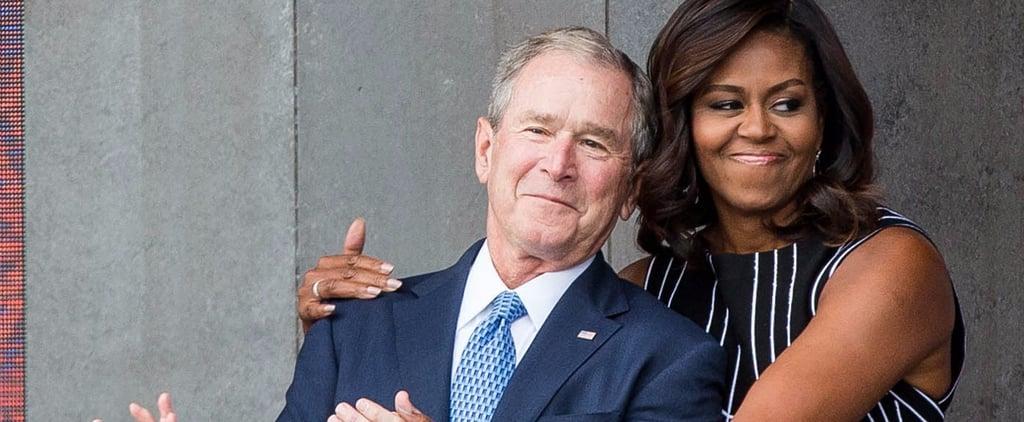 George W Bush's Quotes on Michelle Obama