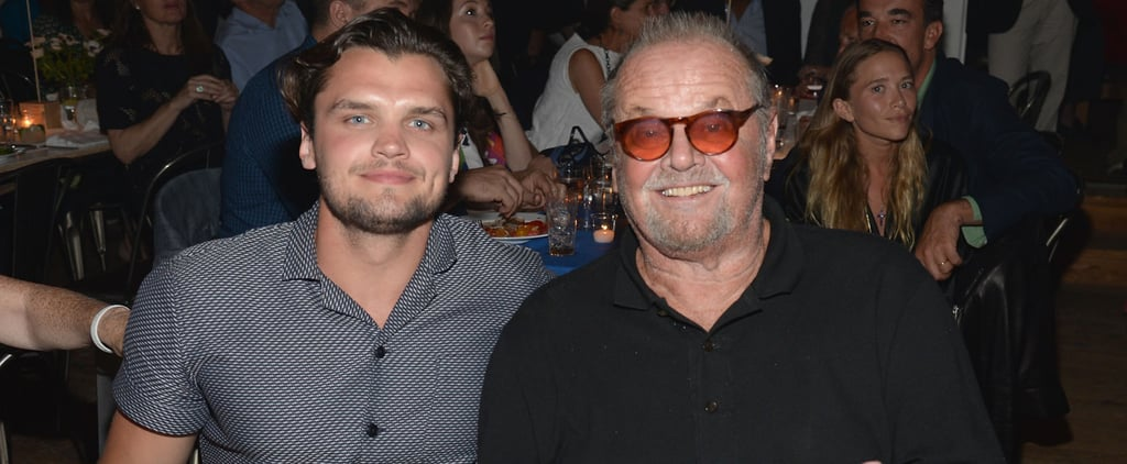 Jack Nicholson and Son Ray Look-Alike Photo