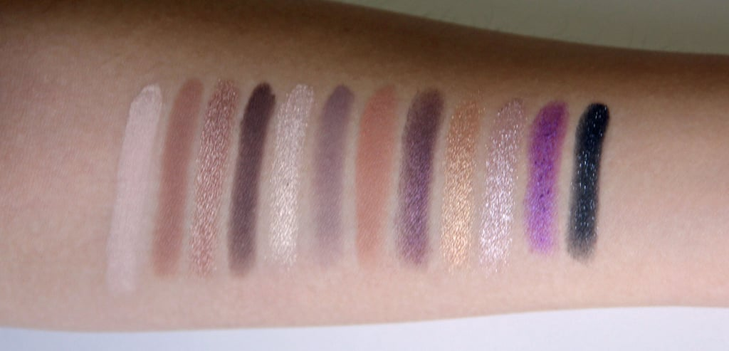 Too Faced Merry Macarons Palette Swatched on Medium Skin