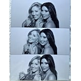 """Love you @leah_jenner,"" Kim wrote in the caption for a collage with her sister-in-law, Leah Felder, who is married to Brandon Jenner.  Source: Instagram user kimkardashian"