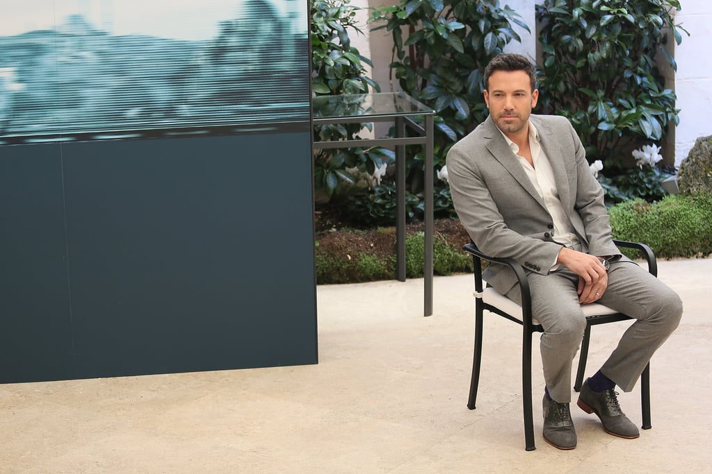 Ben Affleck stepped out to promote his new film Argo in Rome.
