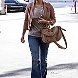 Kim Kardashian in LA in 2011
