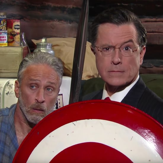 Jon Stewart on Late Show With Stephen Colbert July 2016