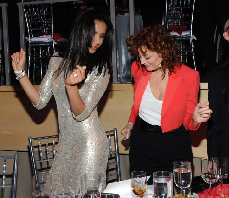 Padma Lakshmi danced with Susan Sarandon.