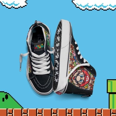 2a1e6a703f Vans Collaborates With Nintendo