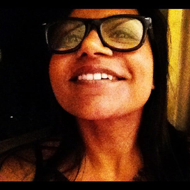 Mindy Kaling shared a cute close-up. Source: Instagram user marctwain