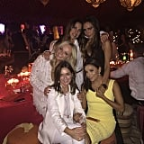 """Victoria was excited to be with her pals, writing, """"Spice Girls in Marrakech!"""""""