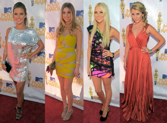 Pictures of Hills Girls at MTV Movie Awards