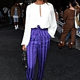 Liya Kebede at the 3.1 Phillip Lim New York Fashion Week Show