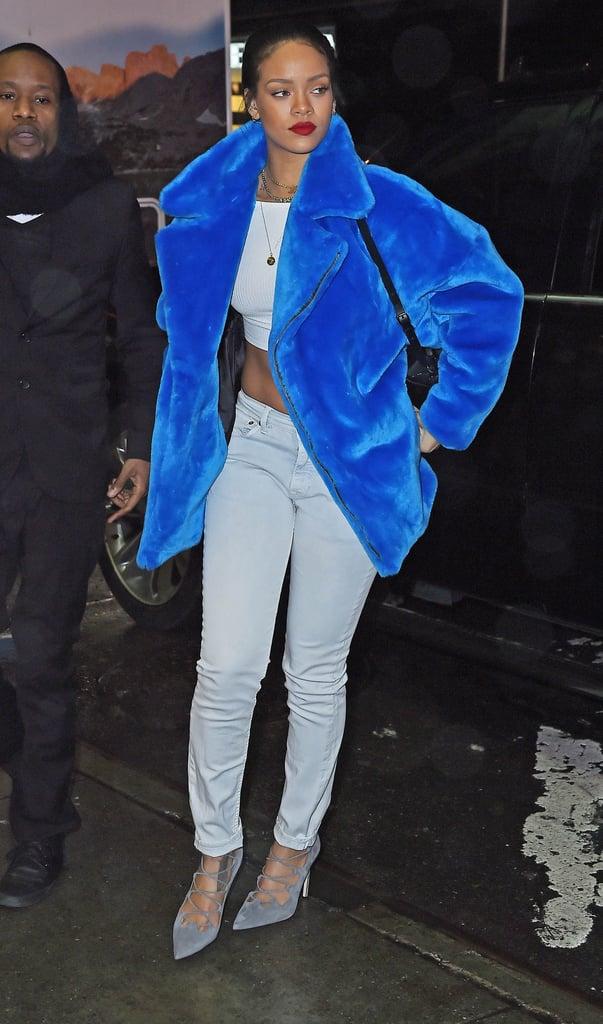 Take a Look at 24 of Rihanna's Most Stylish Coat Moments